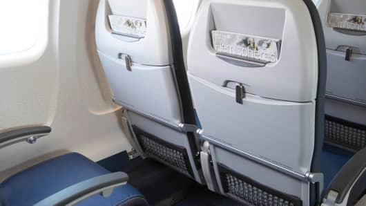 United Airlines Economy seating