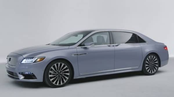 Lincoln unveils 80th anniversary Continental with suicide doors
