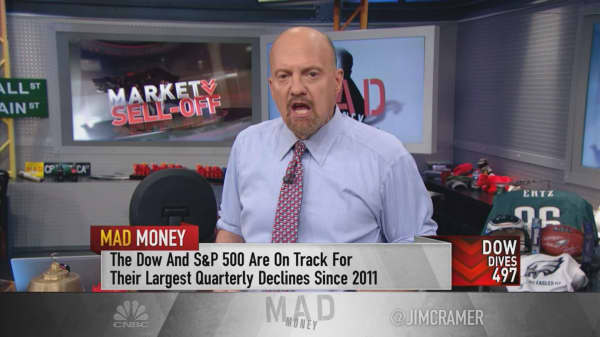 Cramer on the sell-off: Negativity shouldn't stop you from careful stock-picking