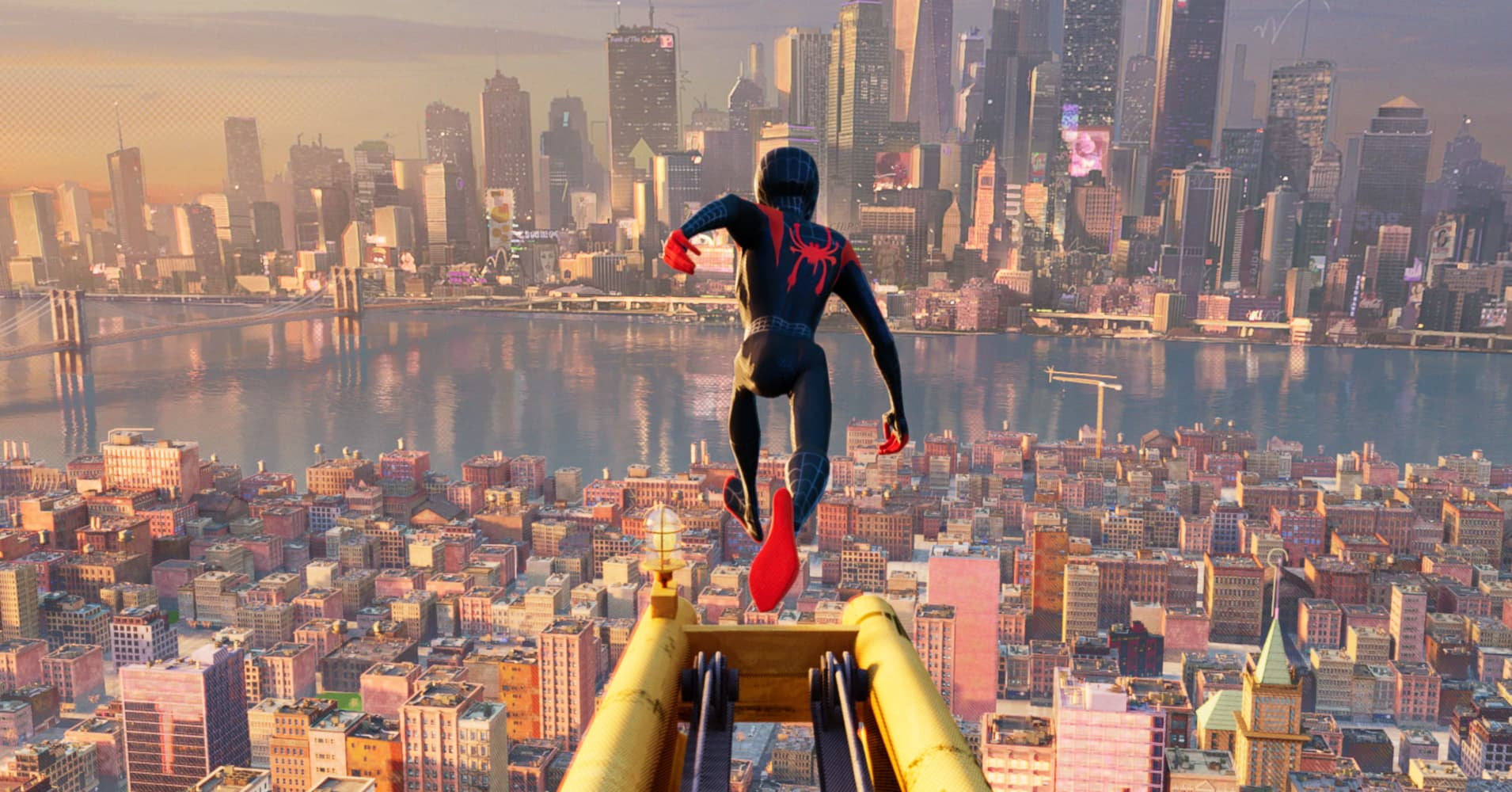 How Sony's 'Spider-Man: Into the SpiderVerse' uses AR to put a new spin on the world-famous hero