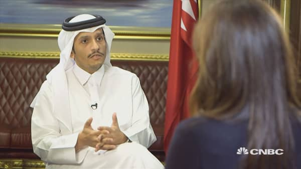 Qatari foreign minister: No progress yet on solving Gulf blockade