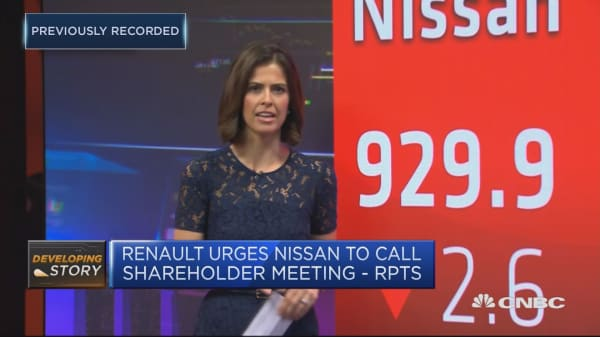 Nissan to hold first board meeting since Carlos Ghosn's arrest