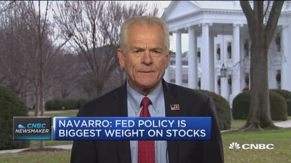 Peter Navarro: the fed is the main factor behind market volatility
