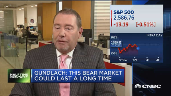 Doubleline's Gundlach: Dysfunction in government is a negative for the world economy