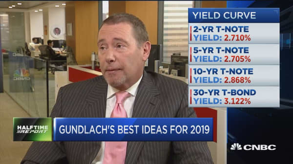 A high-quality bond portfolio is 2019's best bet, says Doubleline's Gundlach