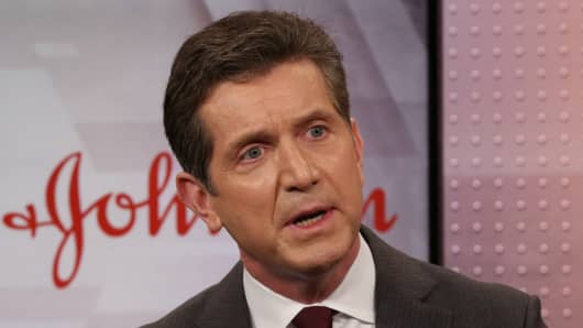 Alex Gorsky, Chairman and CEO of Johnson & Johnson.