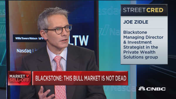 I was wrong on the sell-off, but this bull market isn't dead yet, says Blackstone's top strategist