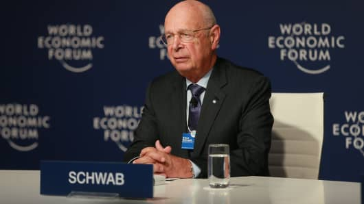 World Economic Forum founder and Executive Chairman Klaus Schwab