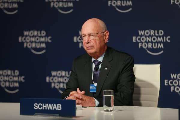 World Economic Forum founder and Executive Chairman Klaus Schwab