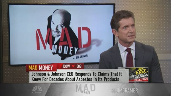 Johnson & Johnson CEO: 'We unequivocally believe' our baby powder does not contain asbestos