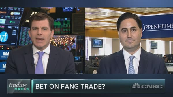 As FANG falls apart, one options expert sees bullish support for one