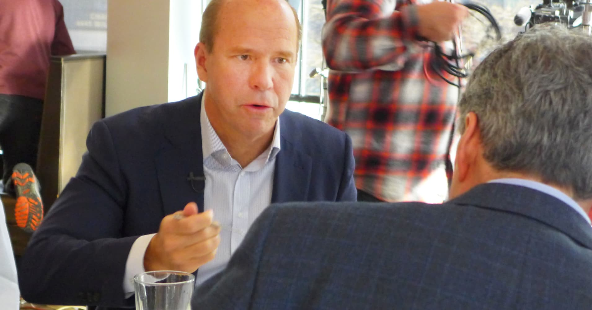Presidential candidate John Delaney says every Americans should have health care 'as a right'