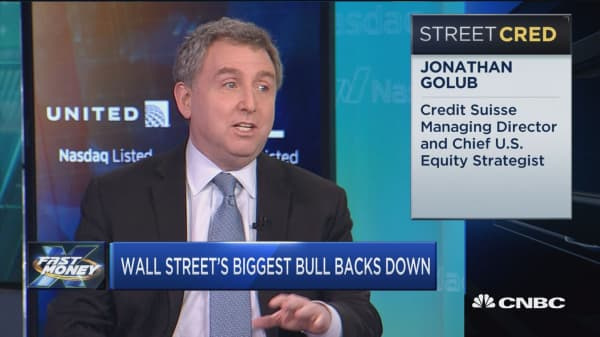 Why Wall Street's biggest bull backed off his mega rally price target