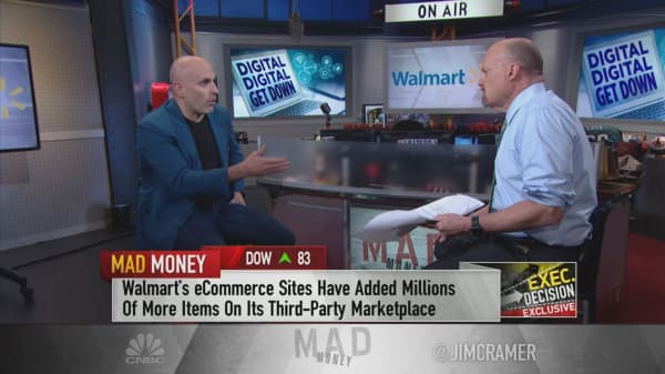 Food delivered 'right into your fridge' is the future, says Walmart's e-commerce chief