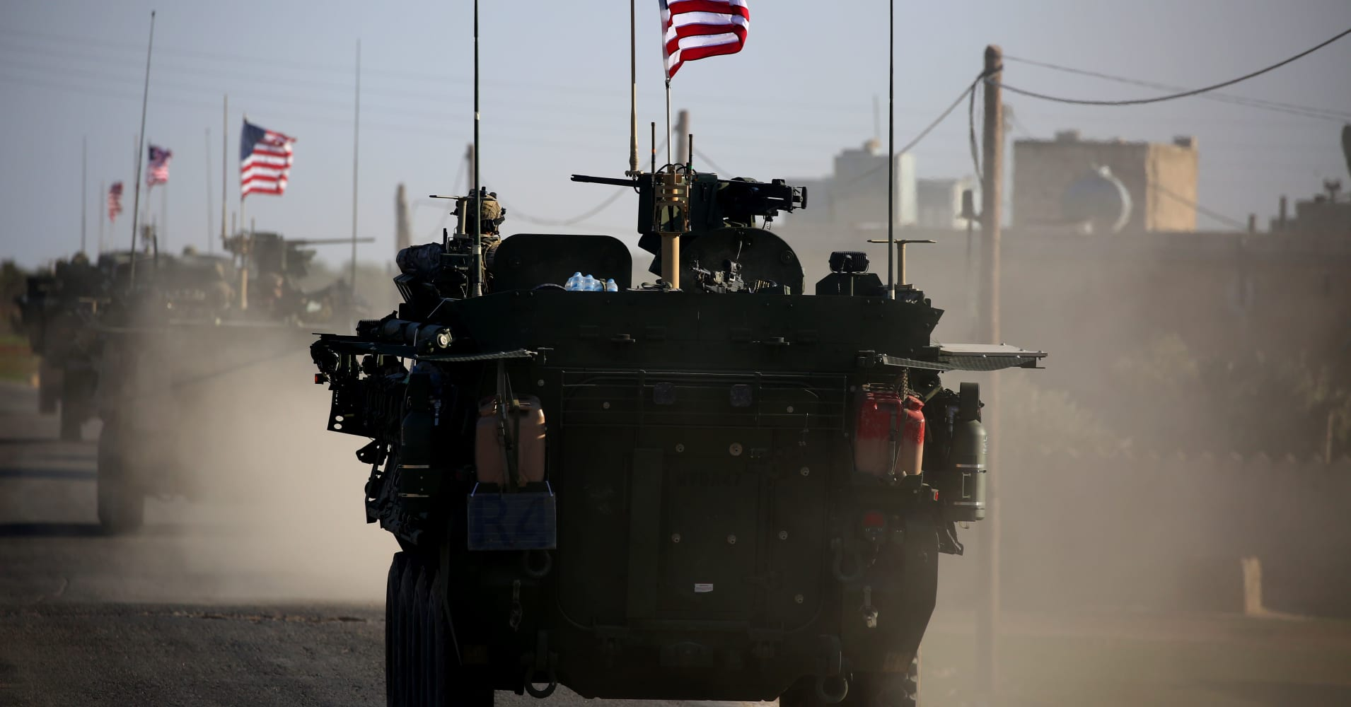 US-led coalition says has started Syria withdrawal