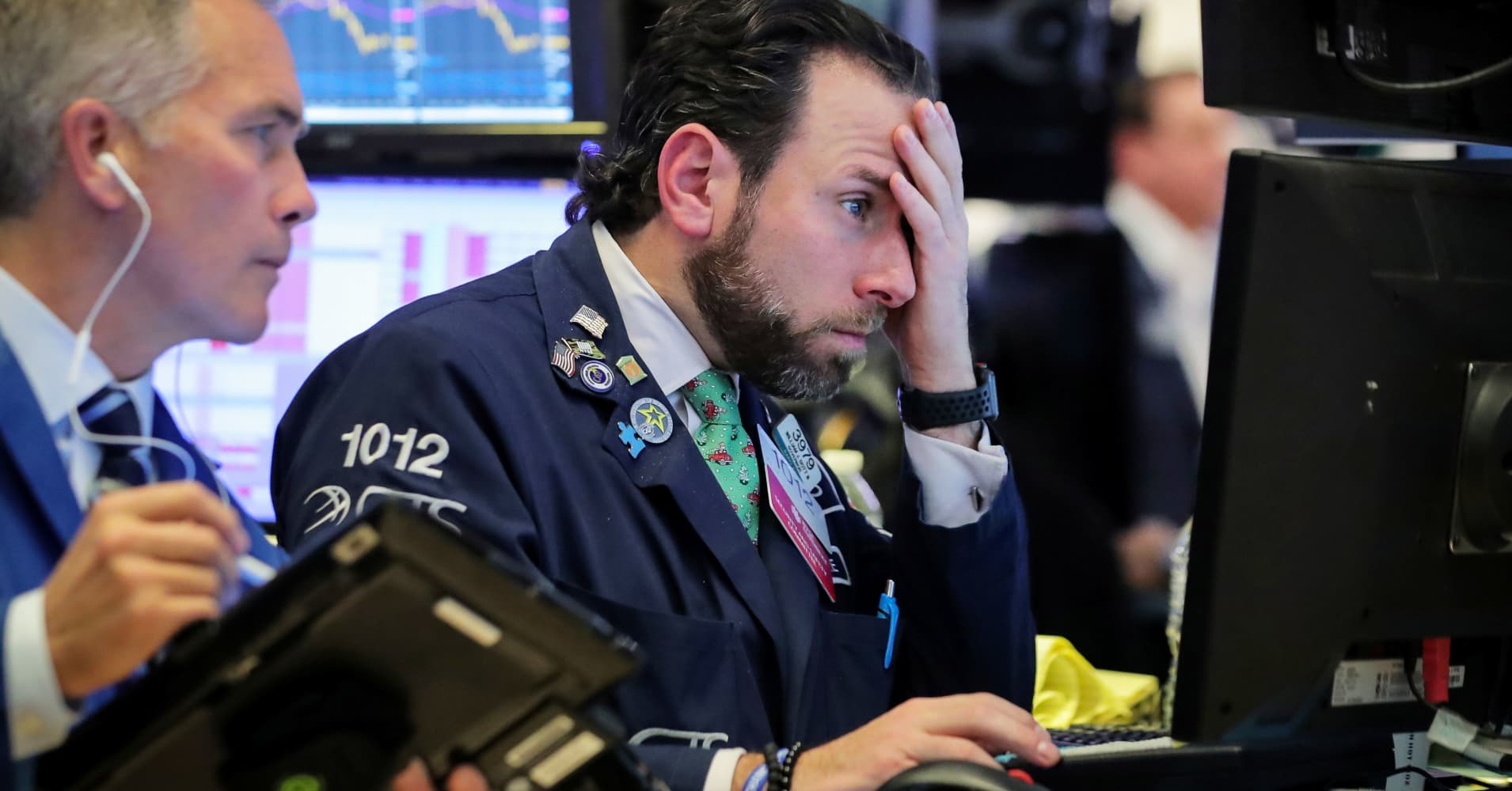 With some ugly earnings reports rolling in, investors hope the bad news is 'priced in'