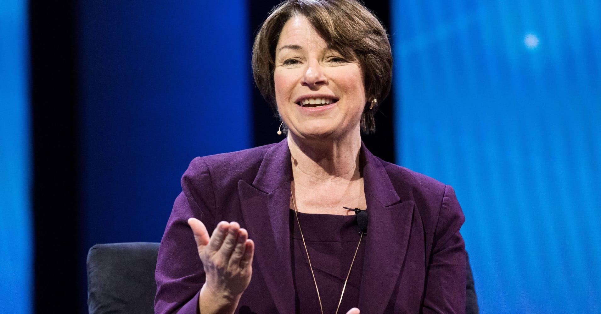 Minnesota Democrat Amy Klobuchar declares bid for 2020 presidential nomination
