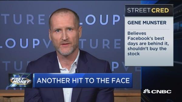 Loup Venture Founder Gene Munster believes Facebook's best days are behind it