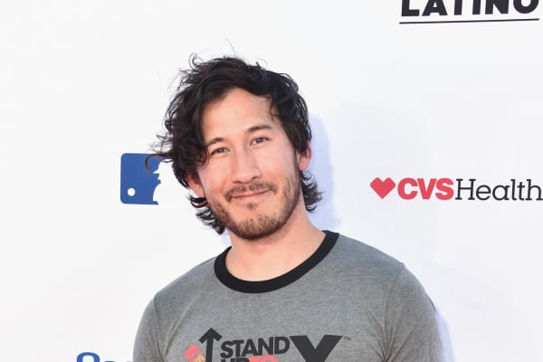 Markiplier attends the sixth biennial Stand Up To Cancer telecast at the Barkar Hangar on Friday, September 7, 2018 in Santa Monica, California.
