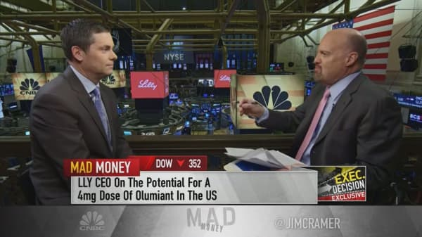 'It's a horse race between three great companies': Eli Lilly CEO talks winning on migraine treatments