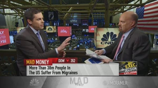 Eli Lilly CEO talks winning on migraine treatments
