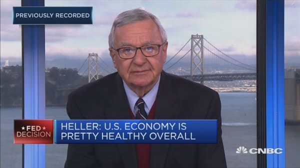US markets might drop lower: Former fed governor