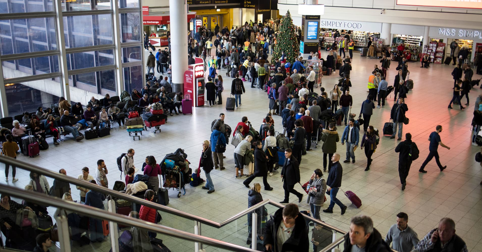 Gatwick airport says working to allow limited flights
