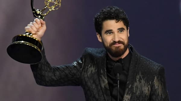 Darren Criss says 'Versace' set was like getting to sit with the cool kids at lunch