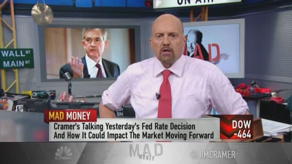 Cramer tells investors to buy gold after Fed hike