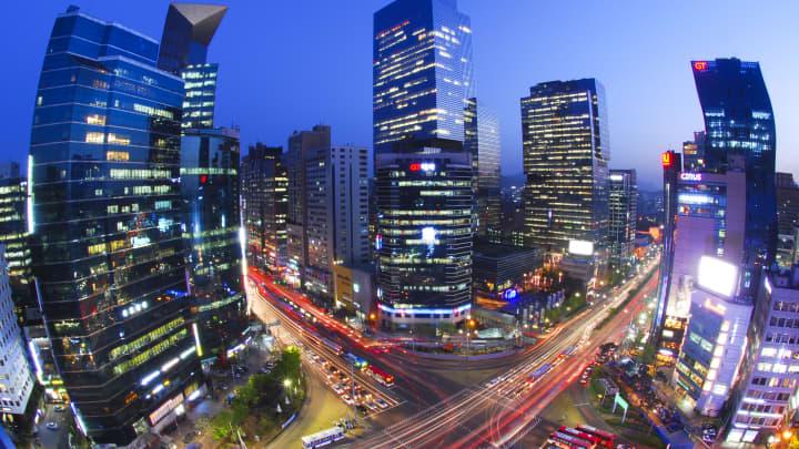 Gangnam view (Seoul)