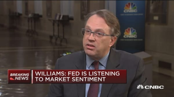 NY Fed President: 2019 outlook may change, rate hikes not guaranteed