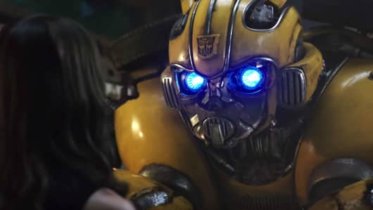 """A still from the movie """"Bumblebee"""""""