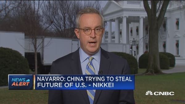 Navarro: China deal difficult unless China overhauls practices