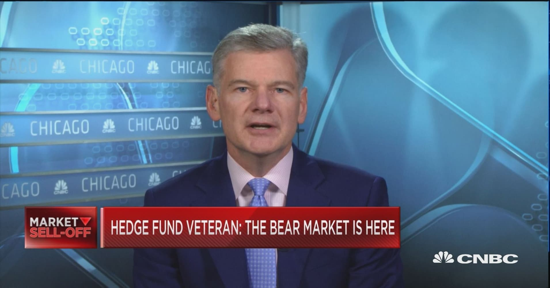 Hedge-fund veteran Mark Yusko is predicting a 'dreadful bear market' in 2019
