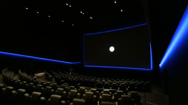 Inside Dolby Cinema at Dolby's headquarters