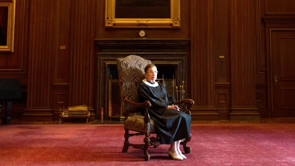 Ruth Bader Ginsburg's famous women's rights cases centered around money