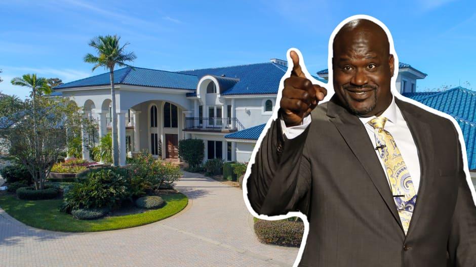 Take a look inside Shaq's $22 million South Florida mansion