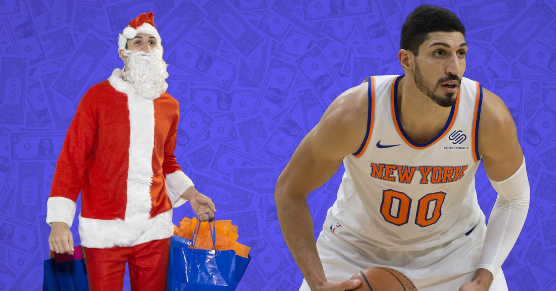 Enes Kanter Of The Nba Knicks Shares His Money Regrets And What He