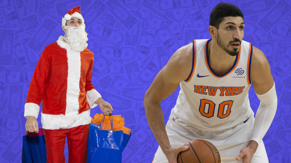 Enes Kanter of the NBA Knicks shares his money regrets and what he refuses to splurge on