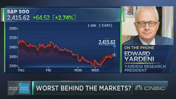 Recession jitters are overblown: Market bull Ed Yardeni