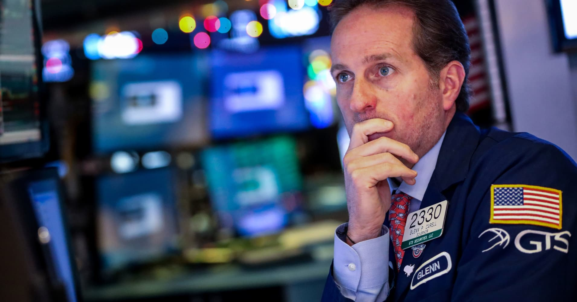 US Treasury yields move lower amid heightened fears of an economic slowdown