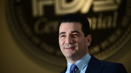 Scott Gottlieb, commissioner of the Food and Drug Administration (FDA).