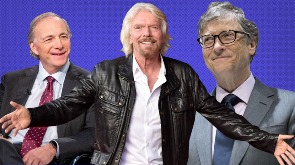 How Bill Gates, Richard Branson and Ray Dalio approach goal-setting