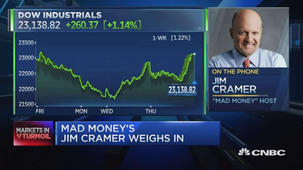 This market is no longer as safe as it's been, says Jim Cramer