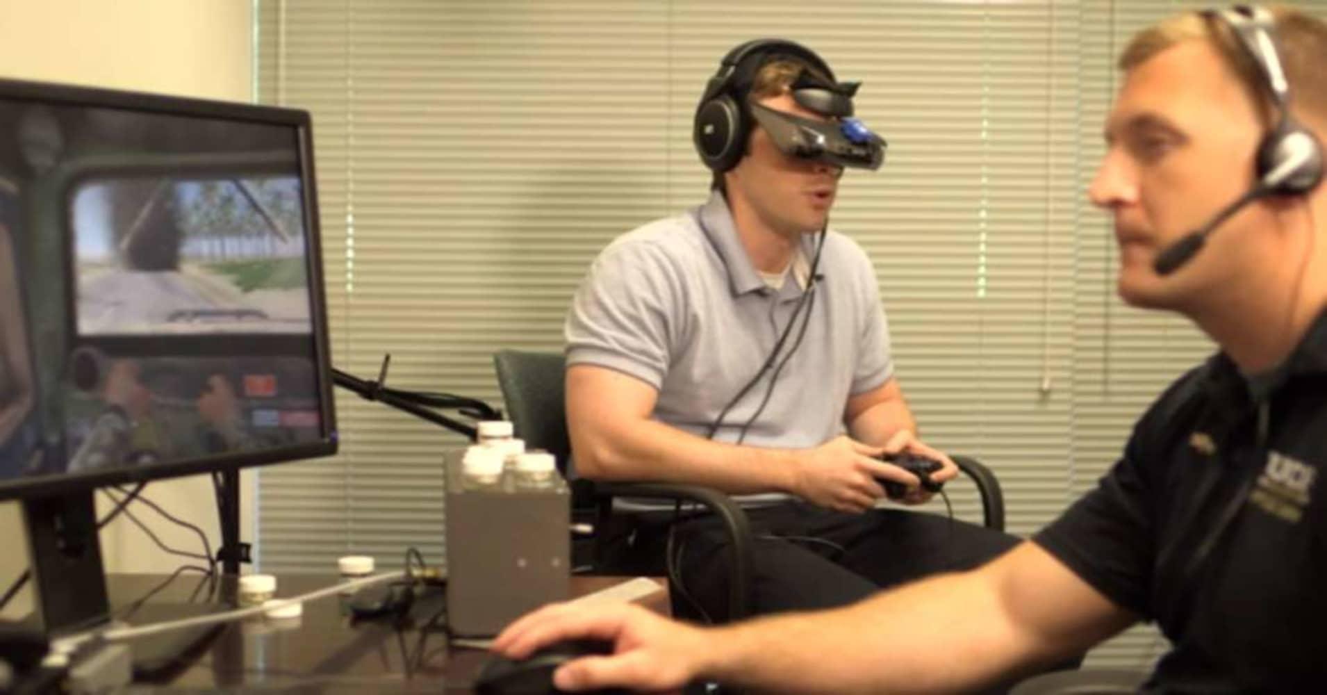 Orlando clinic develops virtual reality to treat PTSD in veterans