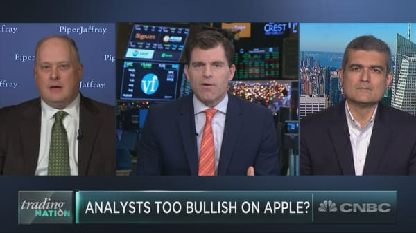Apple analysts have gotten it wrong on the stock this year