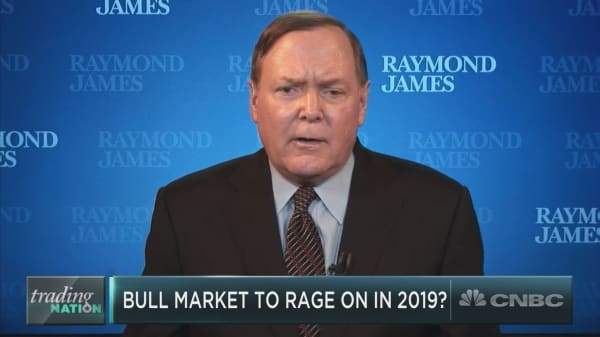 'Watch out' if the Dow breaks this one level, market bull Jeff Saut says