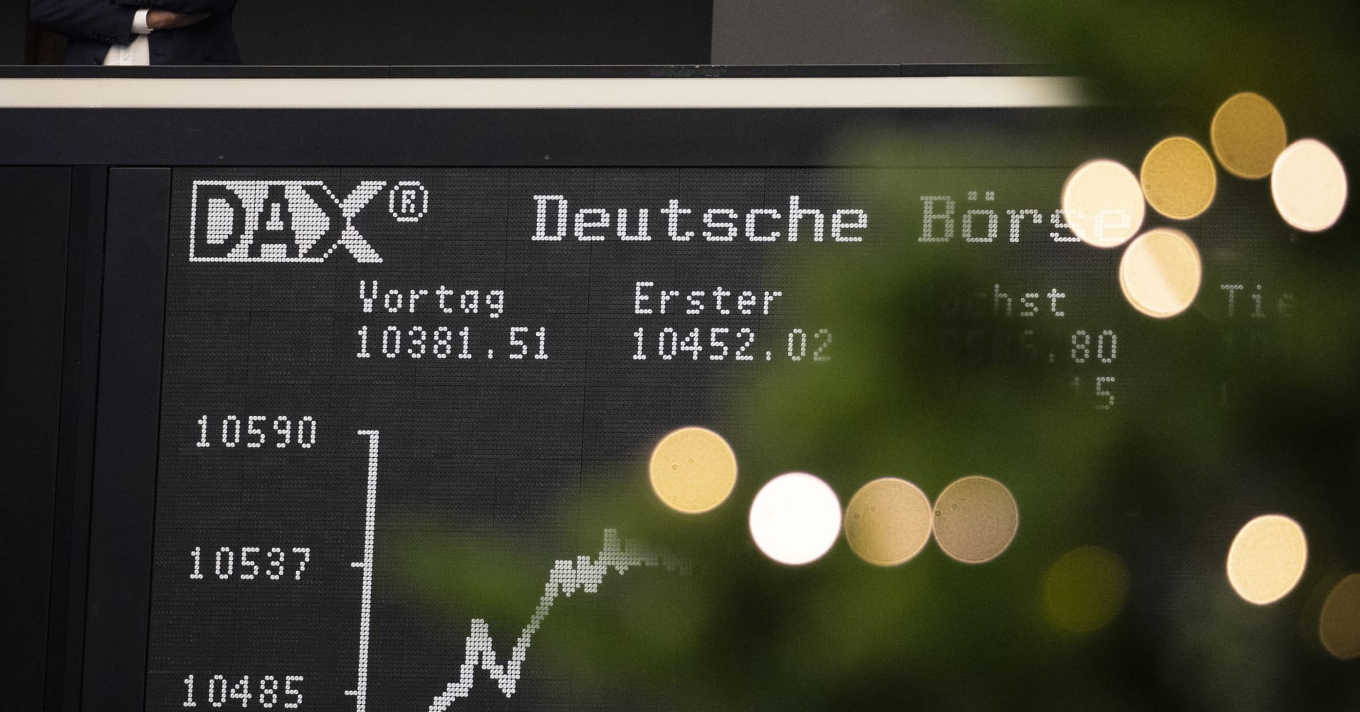 Bulls lose control as German DAX faces worst year in a decade