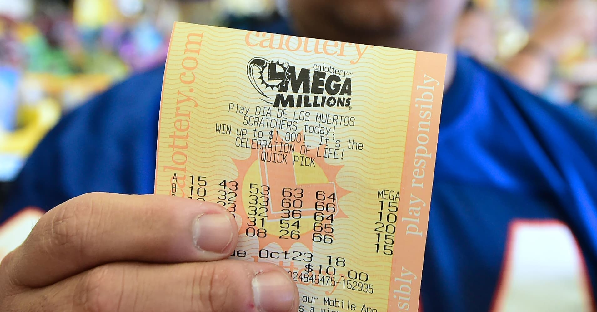 Winning Mega Millions ticket worth $425 million sold on ...