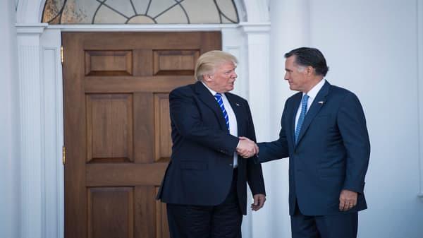 Mitt Romney criticizes Trump in Washington Post op-ed